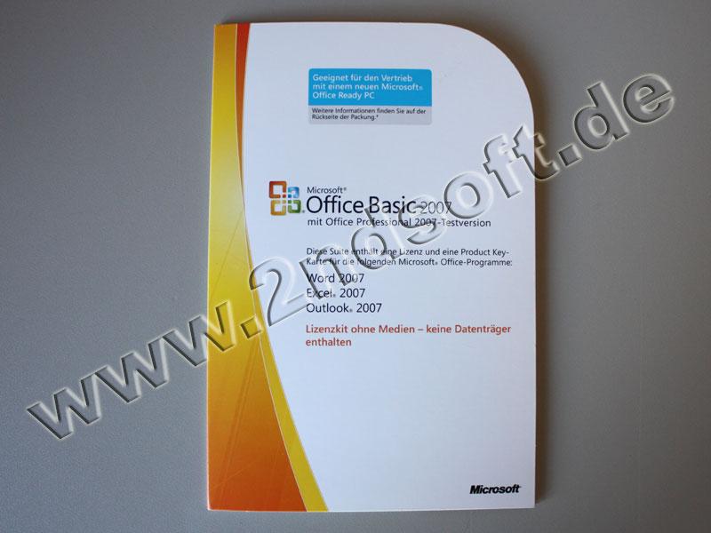 office 2007 basic edition office 2007 basic edition 2716 software lizenzen kaufen. Black Bedroom Furniture Sets. Home Design Ideas