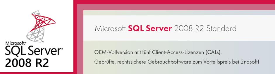 SQL 2008 R2 günstig kaufen