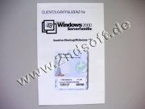 Zugriffslizenzen für Windows 2000 Server