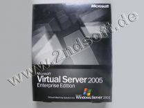 Virtual Server 2005 Enterprise Vollversion, englisch für Windows 2003 Server - neu