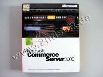 Commerce Server 2000 Standard mit Einprozessor Lizenz mit SQL-Server 1-Proz. Vollversion, englisch - neu