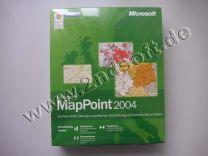 MapPoint 2004 Europäische Ausgabe Update, englisch - neu