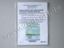(RDS)-Terminal-Zugriffslizenzen (Geräte) für Windows 2008 Server R1 / R2