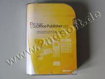 Publisher 2007 Vollversion, englisch - neu