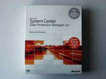 System Center 2007 Data Protection Manager mit Einprozessorlizenz, 32-Bit, x64 Vollversion, englisch - neu
