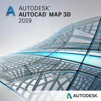AutoCAD Map 3D 2019, Netzwerklizenz, deutsch