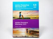 Photoshop und Premiere Elements 2021 Box-Vollversion, deutsch, für Windows und MacOS - neu
