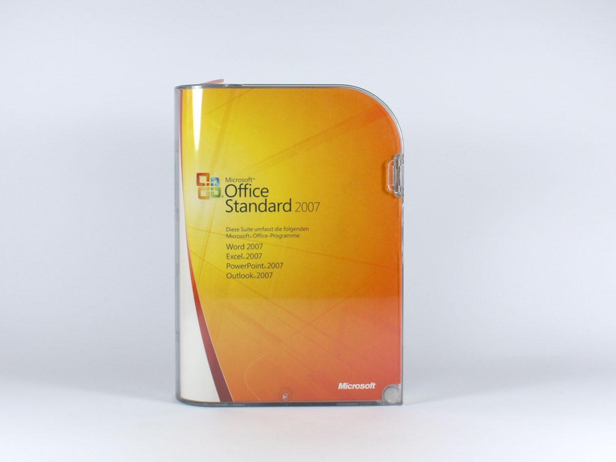 office 2007 standard office 2007 standard 2713 software lizenzen kaufen verkaufen beim. Black Bedroom Furniture Sets. Home Design Ideas